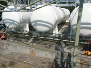 Montáž potrubních rozvodů čpavku a čpavkové vody v areálu stáčírny kyselin